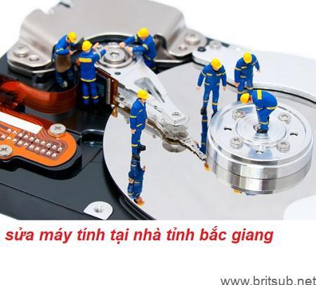 sửa máy tính tại nhà tỉnh bắc giang