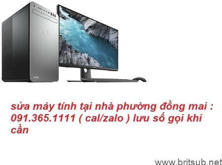 sửa máy tính phường đồng mai giá rẻ