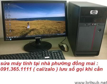sửa máy tính tại nhà phường đồng mai